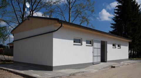 Budova sociálního zařízení Autokempu Pávov, Jihlava