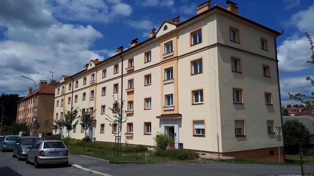 Revitalizace bytového domu J. Haška 571-3, Ledeč n. Sázavou