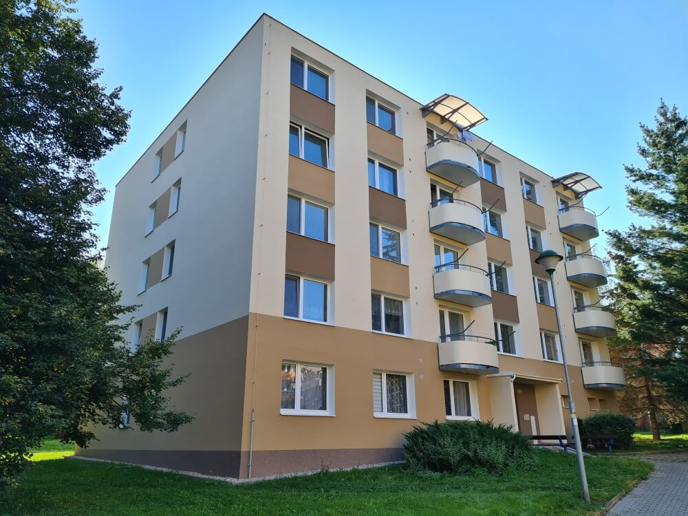 Zateplení bytového domu Březinova 122 v Jihlavě